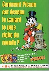 Verso de Picsou Magazine Hors-Série -4- Les trésors de Picsou