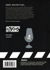 Verso de Actor's studio - Rose rouge