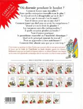 Verso de Le guide -15- Le guide de l'anti-boulot