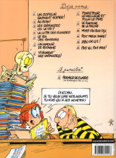Verso de L'Élève Ducobu -13- Pas vu, pas pris !