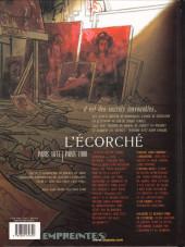 Verso de Secrets - L'écorché -2- L'écorché - 2