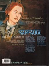 Verso de Secrets - Samsara -1- Samsara tome 1