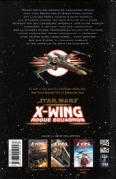 Verso de Star Wars - X-Wing Rogue Squadron (Delcourt) -3- Opposition rebelle