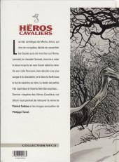 Verso de Les héros Cavaliers -6- La faim des illusions