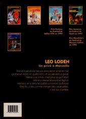 Verso de Léo Loden -6- Pizza aux pruneaux