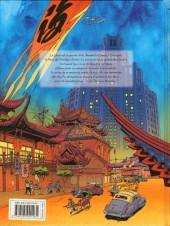 Verso de Tigresse Blanche -4- Une espionne sur le toit