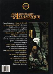 Verso de Les survivants de l'Atlantique -2- La route des esclaves