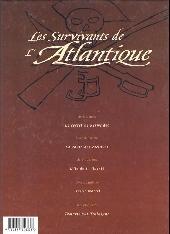 Verso de Les survivants de l'Atlantique -5- Tempête sur Trafalgar