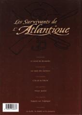 Verso de Les survivants de l'Atlantique -6- La belle, le diable et le corsaire
