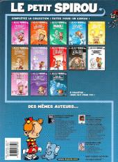 Verso de Le petit Spirou -13- Fais de beaux rêves !