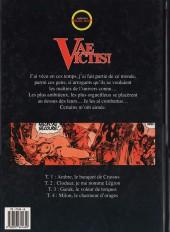 Verso de Vae Victis ! -4- Milon, le charmeur d'orages