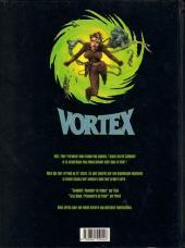 Verso de Vortex -2- Tess Wood, prisonnière du futur - 2