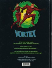 Verso de Vortex -5- Tess Wood & Campbell - 5