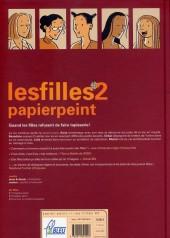 Verso de Les filles -2- Papier peint