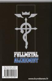 Verso de FullMetal Alchemist -14- Tome 14
