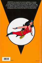 Verso de Teen Titans (Archives DC) -2- 1981-1982