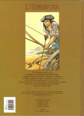 Verso de L'Épervier (Pellerin) -5- Le Trésor du Mahury