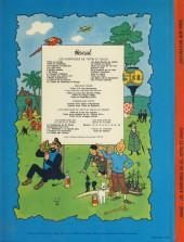 Verso de Jo, Zette et Jocko (Les Aventures de) -2B42- Destination New York