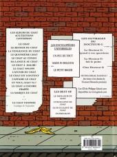 Verso de Le chat -14- La Marque du Chat