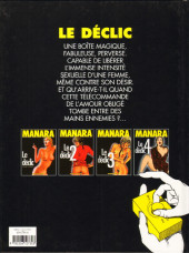 Verso de Le déclic -4- Le déclic 4
