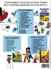 Verso de Les schtroumpfs - Schtroumpferies -5- Schtroumpferies - 5