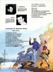 Verso de Bernard Prince -1a75- Le général Satan