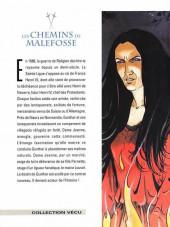 Verso de Les chemins de Malefosse -1e2007- Le diable noir