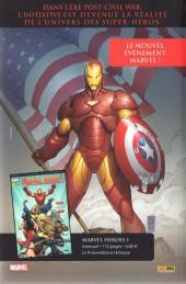 Verso de Marvel Icons (Marvel France - 2005) -31- Le fer et le feu