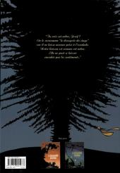 Verso de Le désespoir du singe -2- Le désert d'épaves