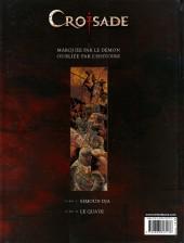 Verso de Croisade - Nomade -1- Simoun Dja