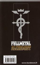 Verso de FullMetal Alchemist -15- Tome 15