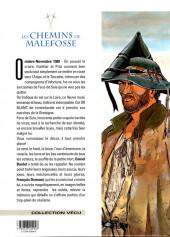 Verso de Les chemins de Malefosse -5d1999- L'Or blanc