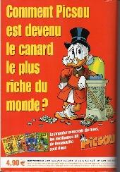 Verso de Picsou Magazine Hors-Série -5- Les trésors de Picsou
