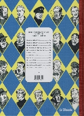 Verso de Blake et Mortimer -7Monde- L'énigme de l'Atlantide