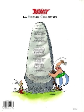 Verso de Astérix (La grande collection) -5- Le tour de Gaule d'Astérix