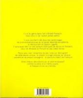 Verso de (AUT) Franquin -24- Franquin, chronologie d'une Œuvre