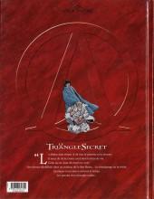 Verso de Le triangle Secret -4- L'Évangile oublié