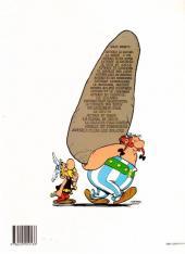 Verso de Astérix (Hors Série) -C01c1989- Les 12 Travaux d'Astérix