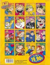 Verso de Kid Paddle -1Kid03- Kid Comics 3