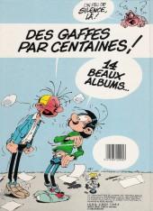 Verso de Gaston (Hors-série) -0Pub- Gaffes et gadgets