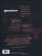 Verso de Quintett -5- Dernier mouvement : La chute