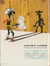 Verso de Lucky Luke -48- Le bandit manchot