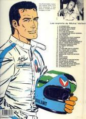 Verso de Michel Vaillant -28b1985- Le secret de Steve Warson