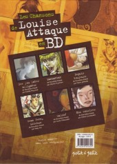 Verso de Chansons en Bandes Dessinées  - Les Chansons de Louise Attaque en BD