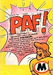 Verso de Picsou Magazine -73- Picsou Magazine N°73