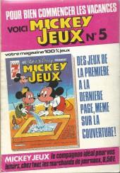 Verso de Picsou Magazine -137- Picsou Magazine N°137