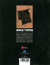 Verso de Tintin - Divers - Nous Tintin (Télérama)