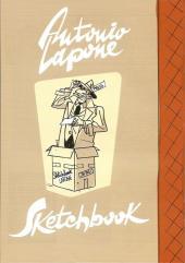 Verso de (AUT) Lapone - Sketchbook Antonio Lapone