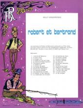 Verso de Robert et Bertrand -27- Le feu vengeur