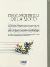 Verso de Joe Bar Team -HS1b- Encyclopédie imbécile de la moto